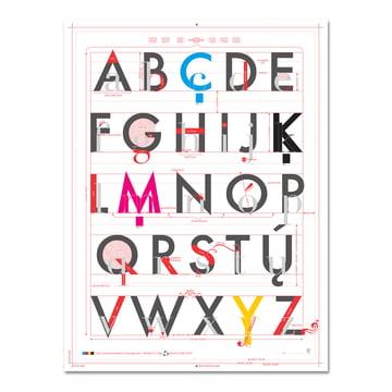 Pop Chart Lab - Alphabet of Typography