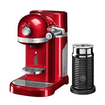 KitchenAid - Artisan Nespresso incl. Aeroccino 3, empire red