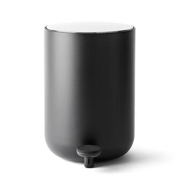 Menu - 7 liter pedal bin, black