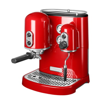 KitchenAid - Artisan espresso machine, red