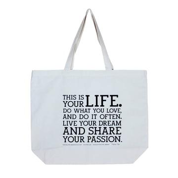 Holstee - Original Manifesto Tote Bag