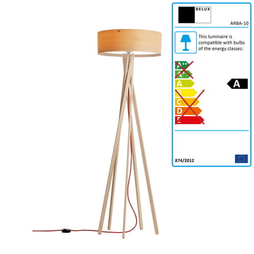 Belux - Arba floor lamp, dimmable