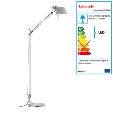 Artemide - Tolomeo Lettura floor lamp LED
