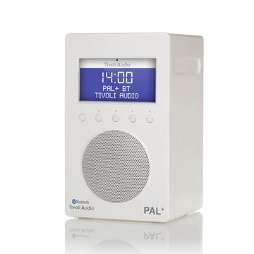 Tivoli Audio - Pal+ BT, glossy white / white