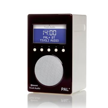 Tivoli Audio - Pal+ BT, glossy black / white