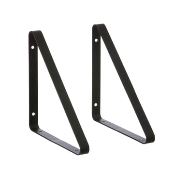 ferm living - Shelf Hangers, black