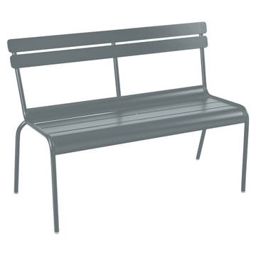 Fermob - Luxembourg bench, stackable, storm grey
