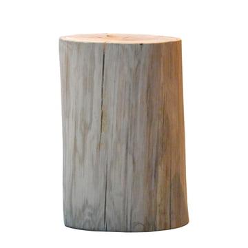 Jan Kurtz - Block Stool, round H 46 cm, oak