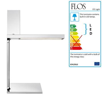 Flos - D'E Light Table Lamp