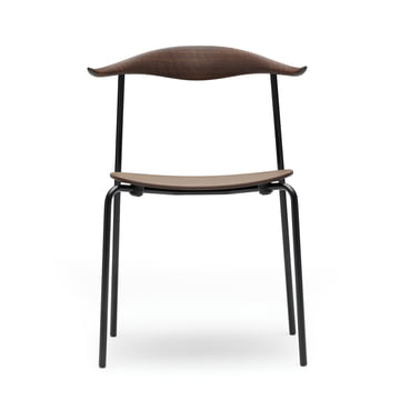 Carl Hansen - CH88T, smoked oak / black powder-coating