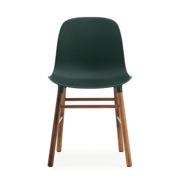 Normann Copenhagen - Form Chair, green / walnut