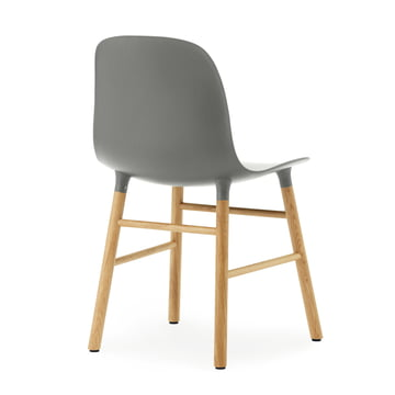 Normann Copenhagen - Form Chair, grey / oak