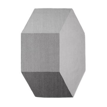 The Willenz Volume Rug medium in stone
