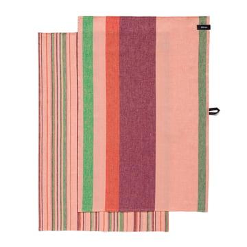 Iittala - Origo Kitchen Towels (Set of 2 pieces), twins pink 43 x 67 cm