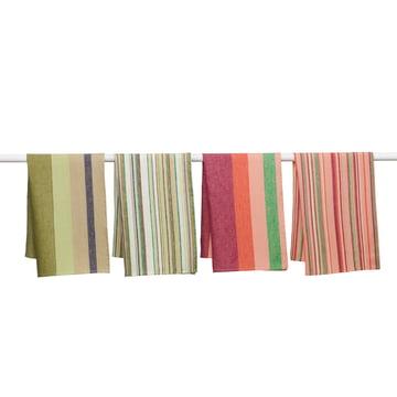 Iittala - Origo Kitchen Towels, green, pink