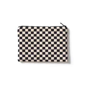 Vitra - Zip Pouch, black / white, medium