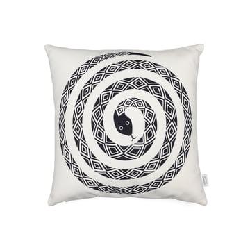 Vitra - Graphic Print Pillow - Snake 40 x 40 cm, black