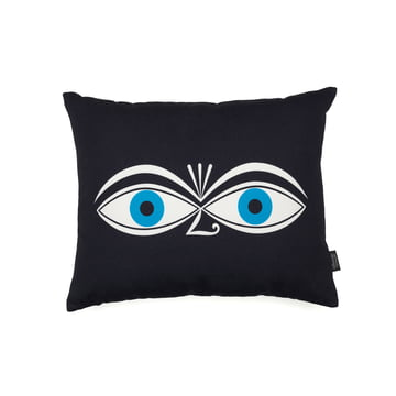 Vitra - Graphic Print Pillow - Eyes 40 x 30 cm, blue side