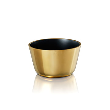 Skultuna - Bowl small, black / brass polished