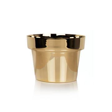 Skultuna - Flower Pot small, brass polished
