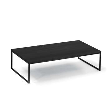 Hans Hansen - Less H 5/2 VA Coffee Table Sled-Base, black / HPL black
