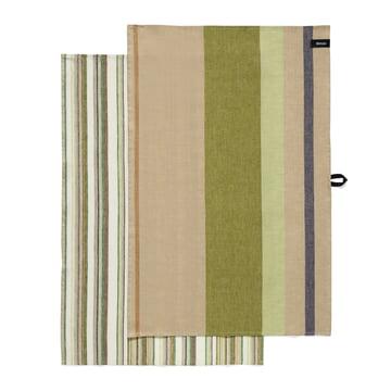 Iittala - Origo Kitchen Towels (set of 2), twins green 43 x 67 cm