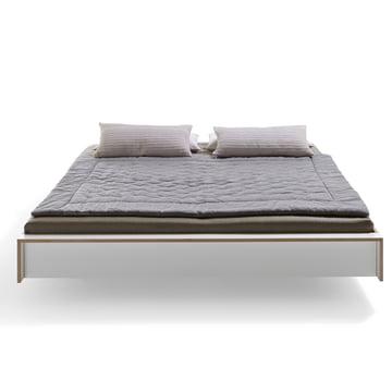 Müller Möbelwerkstätten - Flai bed, white, frontal