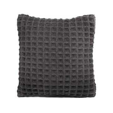Objekten - Waffle Cushion, dark grey