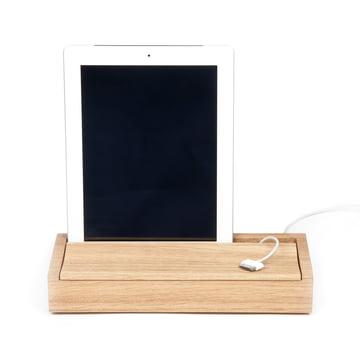 Objekten - Dock Box, oak light, tablet