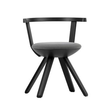 Artek - KG001 Rival Chair, black, black / white