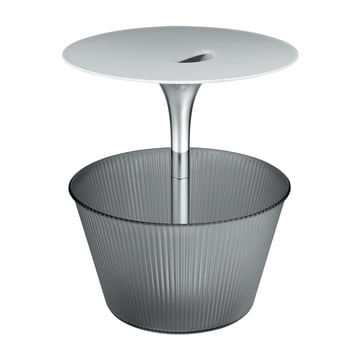 Alessi - Pick-Up Side Table, chrome-plated, grey