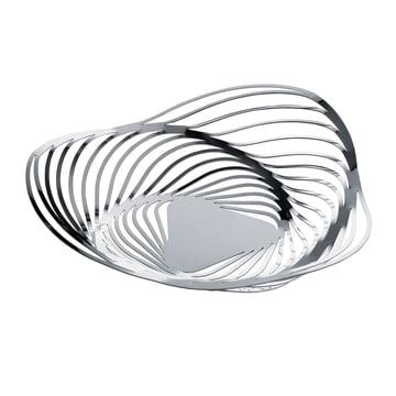 Alessi - Trinity Basket, Ø 33 cm, stainless steel