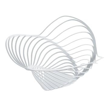 Alessi - Trinity Basket, white