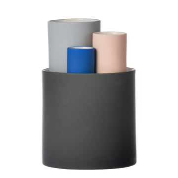Collect vases set of 4 by ferm Living in multicolour