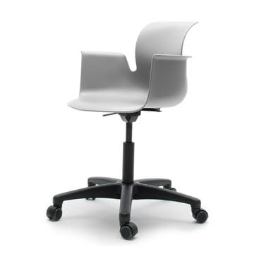 Flötotto - Pro 6 Armchair Swivel Chair, Polyamid / granite grey