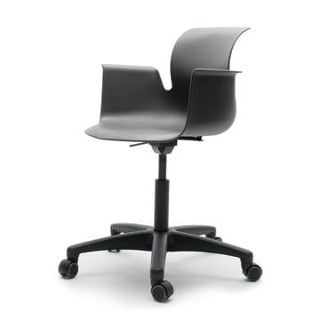 Flötotto - Pro 6 Armchair Swivel Chair, Polyamid / graphite