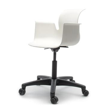 Flötotto - Pro 6 Armchair Swivel Chair, Polyamid / snow-white