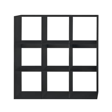 Hans Hansen - Module Shelf HP 3x3, black
