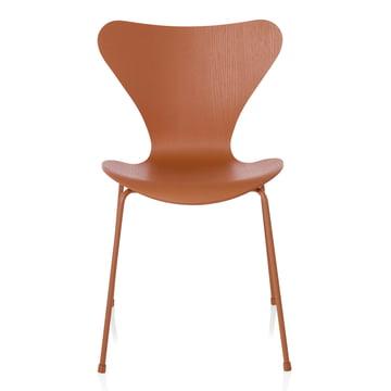 Fritz Hansen - Series 7 Chair, monochromatic Chevalier orange, 46.5 cm