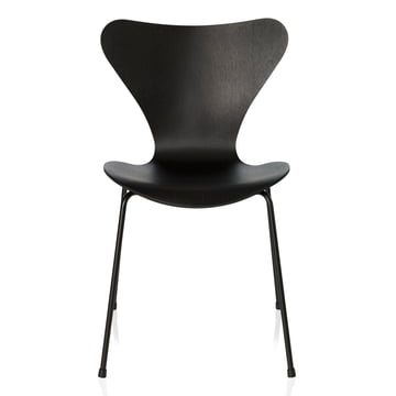Fritz Hansen - Series 7 Chair, monochromatic black, 46.5 cm