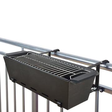 BBQ - Bruce Balcony-Handrail Grill, black