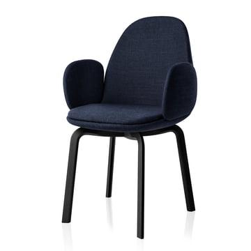 Fritz Hansen - Sammen Armchair 45.5 cm, blue