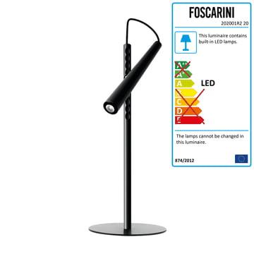 Foscarini - Magneto LED-Table-Lamp, black