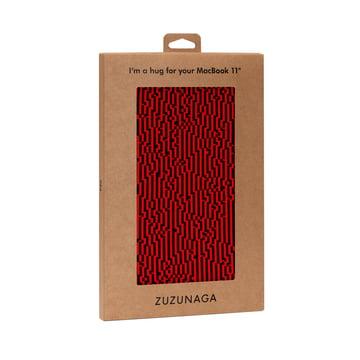 Zuzunaga - MacBook Case 11'', red, package