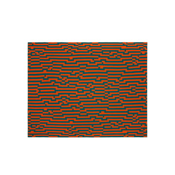 Zuzunaga - Zoom In 1 Woollen Blanket, 140 × 180 cm