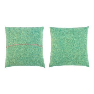 Zuzunaga - Pillow, green 50 x 50 cm, front and back side