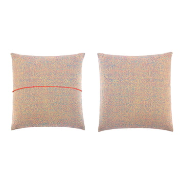 Zuzunaga - Pillow, Multicolor 50 x 50 cm, front and back side
