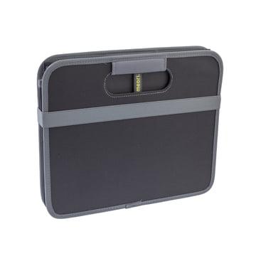 meori - CLASSIC Foldable Box 30 Liter, Lava black solid
