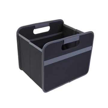 meori - CLASSIC Foldable Box 15 Liter, Lava black solid
