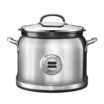 KitchenAid - Multi Cooker, metallic silver